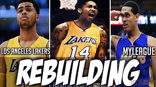 Rebuilding the 2017 Los Angeles Lakers - NBA 2K16 MYGM/MYLEAGUE