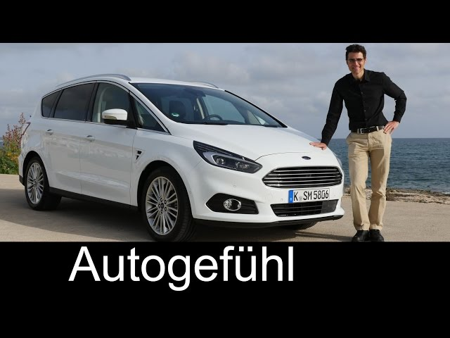 All-new Ford S-MAX 2016 MPV test driven FULL REVIEW ...