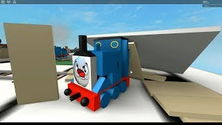 Thomas and Friends Roblox train Crashes 3