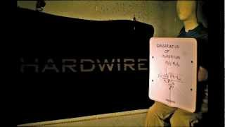 Hardwire Bulletproof Whiteboard Shock and Ricochet Demonstration