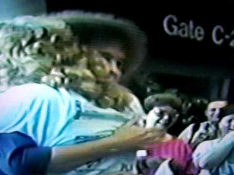 BOB ROSS & DANA JESTER @ NASHVILLE AIRPORT 1989