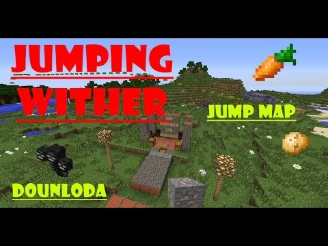 Jumping Wither : map free download : 1.7