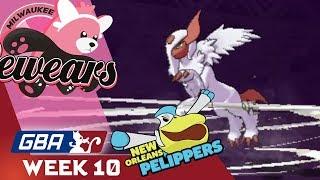 NOT ELIMINATED YET! GBA Week 10! Milwaukee Bewears vs New Orleans Pelippers!