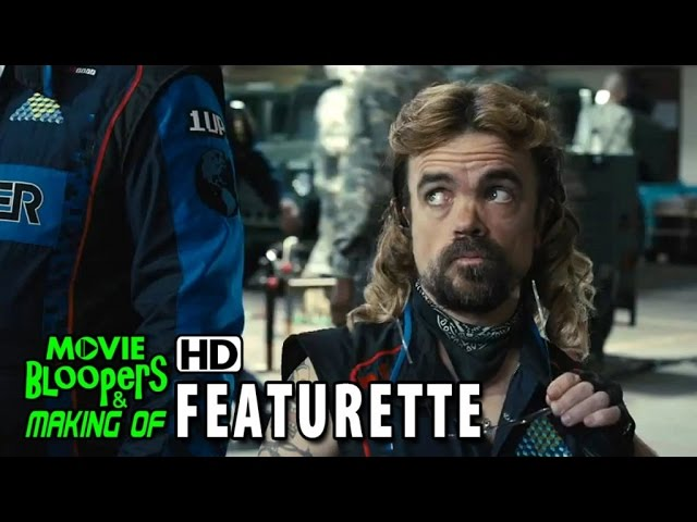 Pixels (2015) Featurette - Peter Dinklage Battles Pac-Man