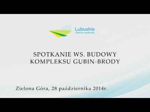 Spotkanie ws. budowy kompleksu Gubin-Brody