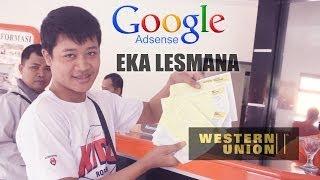 Eka Lesmana Tutorial Mengambil WU Western Union Dari Google Adsense
