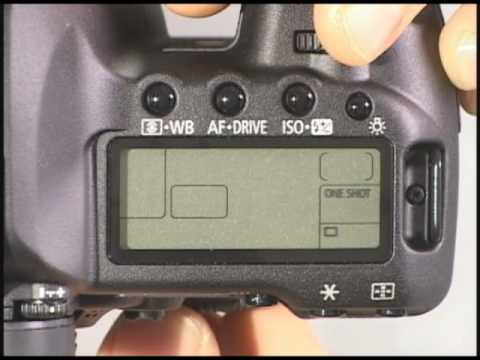 Canon 5D Mark II Top Buttons