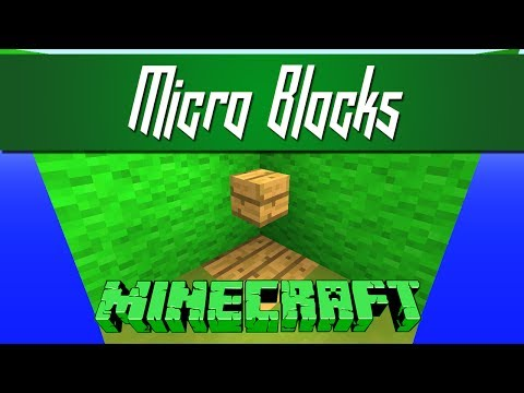 Minecraft - Vanilla Micro Blocks