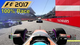 F1 2017 - 100% Race at Red Bull Ring in Alonso's McLaren Honda