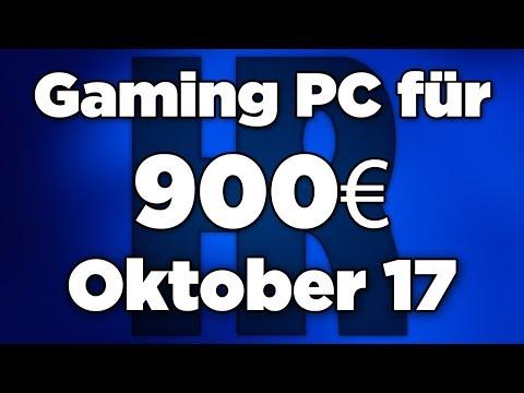 900€ Gaming PC Oktober 2017   Ryzen 5 + GTX 1060   Computer günstig kaufen