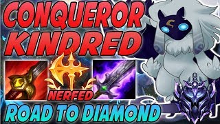 WHAT NERF RIOT? CONQUEROR KINDRED IS STILL BUSTED! | 9.10 Kindred jungle - League Of Legends