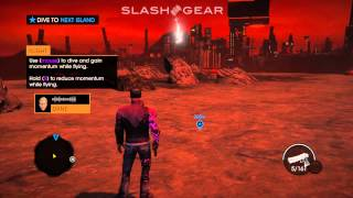 Saints Row Gat Out of Hell: Learning of Fly PC gameplay 60p