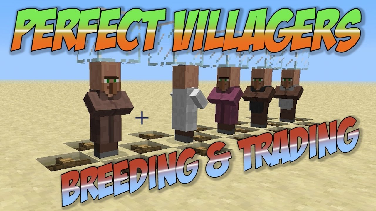 how to get villagers in minecraft to breed