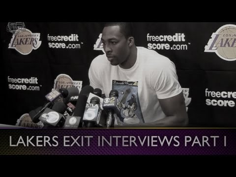 2013 Lakers Exit Interviews: Dwight Howard (Pt. I) Future in LA?
