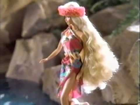 1987 Island Fun Barbie Doll Commercial