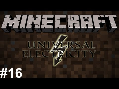 [S2E16] Minecraft: Universal Electricity (Ampz/Voltz) - MineChem Is Awesome!