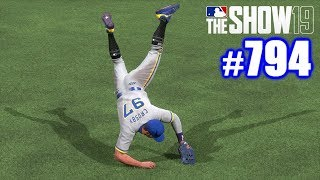 PERFECT THROW HOME! | MLB The Show 19 | Road to the Show #794
