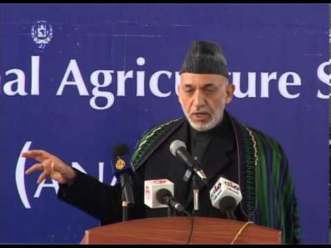 President Karzai's Remarks at the Inauguration of ANAS&TU in Kandahar - Feb 15 , 2014