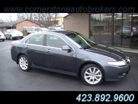 2007 Acura Tsx In Chattanooga Tn At Cornerstone Auto Brokers