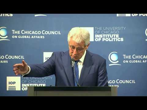 Chuck Hagel, Secretary, US Department of Defense