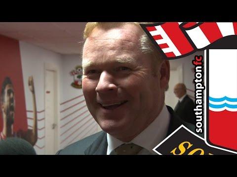 Koeman hails first-half showing as Saints sink Stoke
