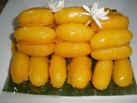 Jackfruit Seed Dessert (Noum Croup Khnow)