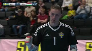 Svédország-Magyarország 5-4 GÓLÖSSZEFOGLALÓ