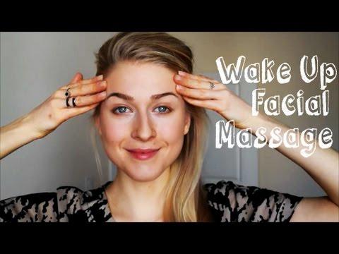 Wake Up Facial Massage.  Lymph Drainage and Ear Massage.