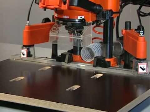 Blum Minipress Drilling And Insertion Machine Youtube