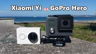 Xiaomi Yi Action Camera vs GoPro Hero