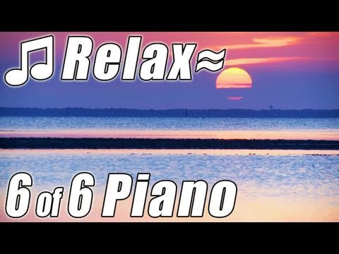 RELAXING PIANO #6 Romantic Music Ocean Instrumental Classical Songs Relax Slow jazz HD video 1080p