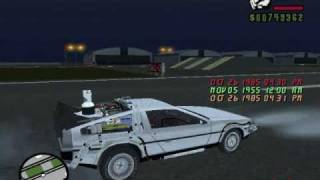 GTA San Andreas - Back To The Future 2 Delorean