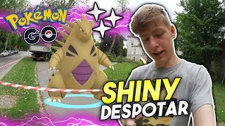 Shiny Despotar ✨ WP??? 1000 Larvitar Bonbons • Pokémon Go deutsch
