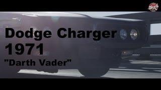 "#MUSCLEGARAGE Супчик. (Dodge Charger 1971 ""Darth Vader"" vs. Basta aka Noggano)"
