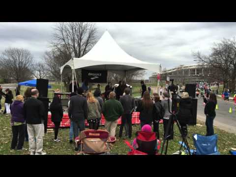 Foreplay / Long Time by Boston at 2016 Rock n Roll Marathon with SOR House Band and Nikki Bellini