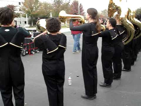 2008 Los Banos High School Marching Band Show - Dejavu