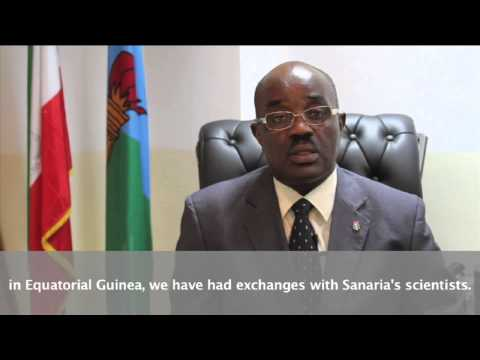 Equatorial Guinea's Minister of Health and Social Welfare Discusses Malaria Vaccine Clinical Trial