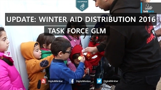 UPDATE: Task Force GLM Winter Aid Distribution 2016