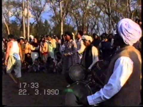 Sajid Sharif Stonelifting in Jadda, Jhelum 1990