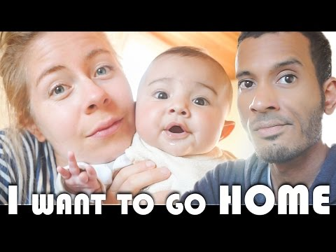 I WANT TO GO HOME - FAMILY VLOGGERS DAILY VLOG