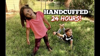 HANDCUFFED to my BROTHER for 24 hours!