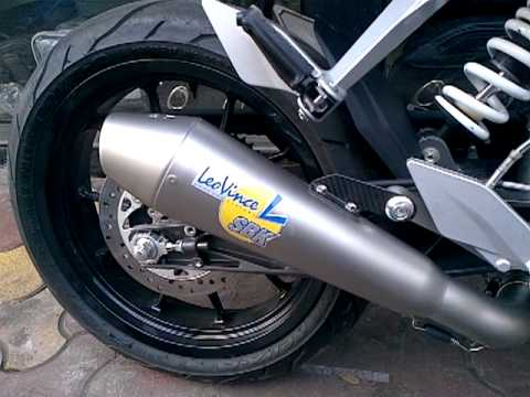 Leo Vince GP Style Evo II SS for 2012 KTM Duke 200 (With DB Killer)