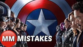 Marvel Captain America Civil War MOVIE MISTAKES You Missed |   Captain America Goofs