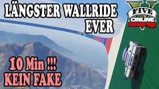 LÄNGSTER WALLRIDE EVER (KEIN FAKE!) ★ GTA 5 Custom Maps ☆ GTA ONLINE | LPmitKev