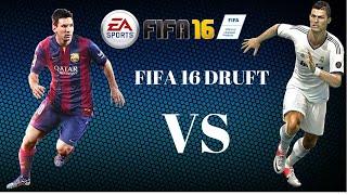 Cristiano Ronardo VS Messi - fifa 16 FUT DRUFT