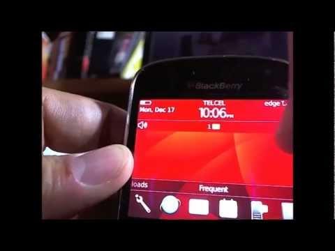 Desbloqueando blackberry bold  9930 por codigo para telcel , Movistar, Mexico o el mundo