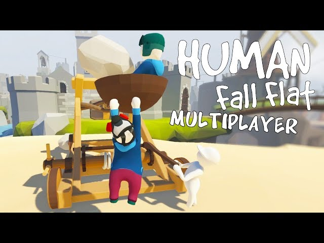 Руководство запуска: Human Fall Flat по сети