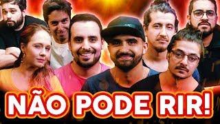 NÃO PODE RIR! com 4 AMIGOS parte 2 (Thiago Ventura, Afonso Padilha, Diih Lopes e Marcio Donato)