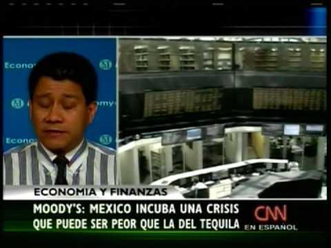 Según Moody's, México enfrentaría una crisis similar a la del efecto Tequila