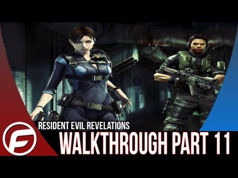 Resident Evil Revelations Walkthrough Part 11 [XBOX 360, PS3, PC, WIIU]